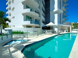 View profile: Just a stroll to the beach and a pool at your door step