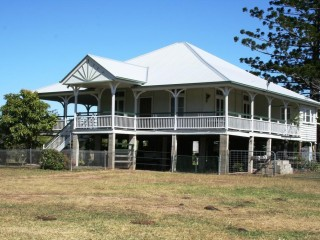 View profile: Great highset colonial homestead on 79 acres for $540000