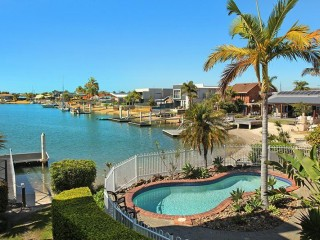 View profile: 2 bedroom + Sofa bed (sleep 6) apartment on canal in the heart of Mooloolaba