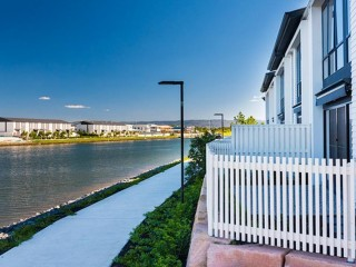 View profile: Stunning Brand New Waterfront 3 bedroom 2 bathroom townhouse