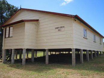 View profile: Sandy Creek Hall!